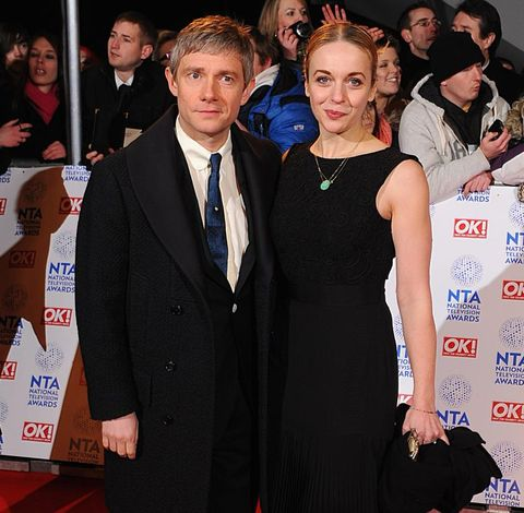 Sherlock's Amanda Abbington discusses how split from co-star Martin Freeman has changed her life