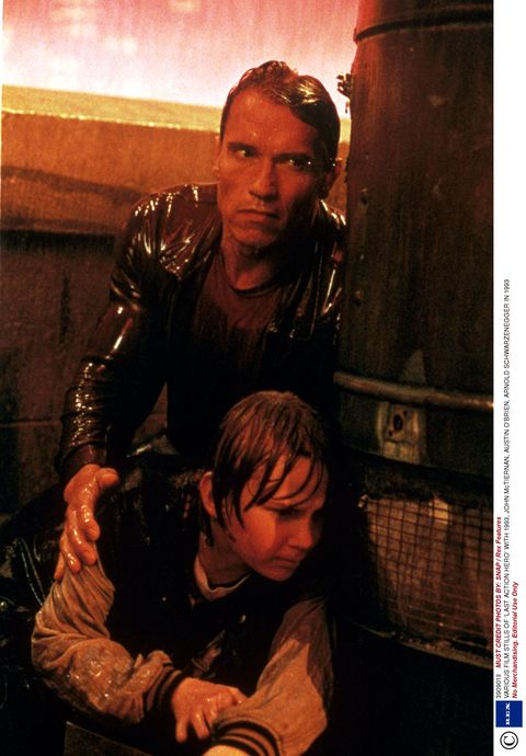 Human body, Mammal, Movie, Leather, Leather jacket, Acting, Action film, Fiction,