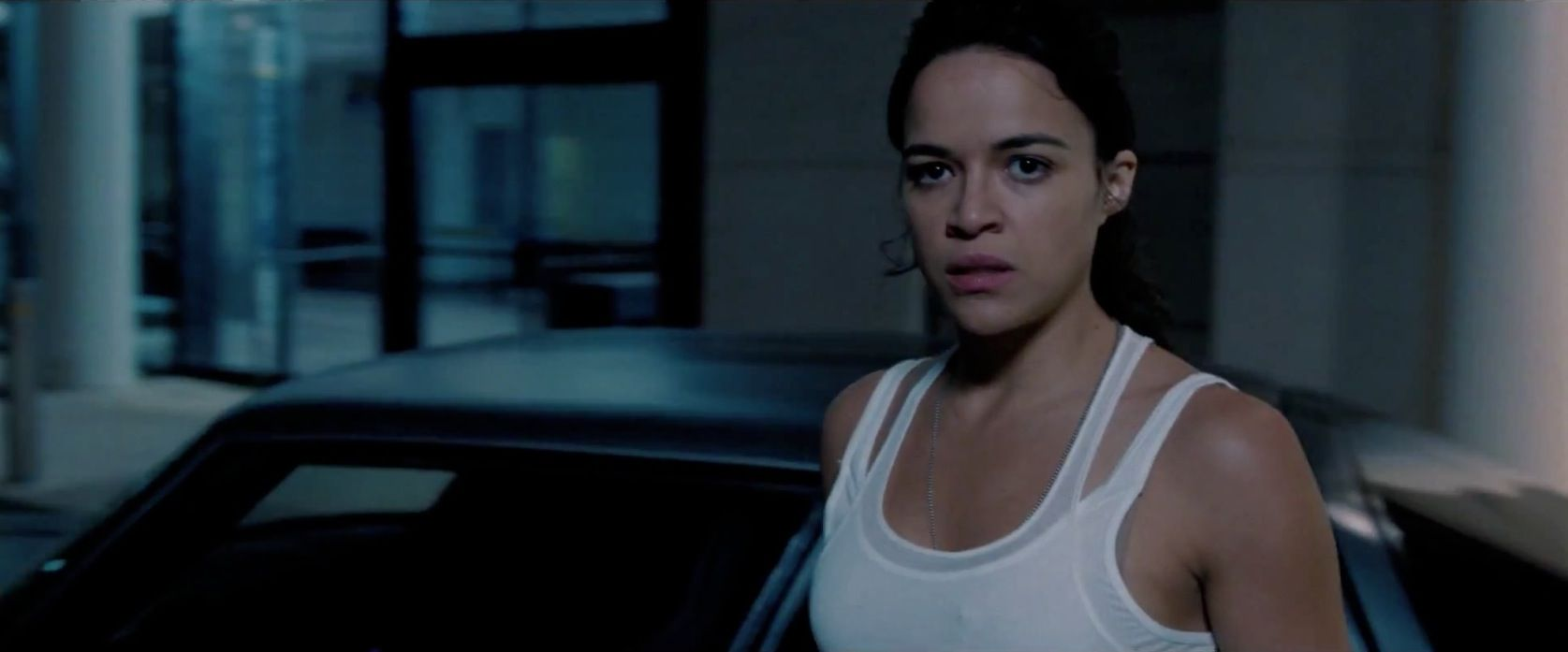 Letty, who suffers from amnesia, currently works for Owen and almost kills Dom.