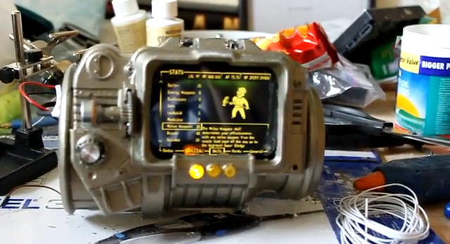 Real-life 'Fallout' Pip-Boy 3000 - video