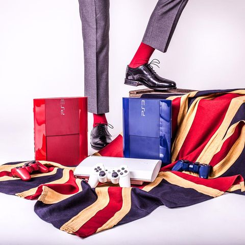 Textile, Red, Carmine, Fashion, Costume accessory, Maroon, Sock, Fashion design, Christmas stocking,