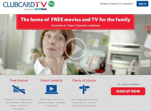Tesco Clubcard customers get free movies
