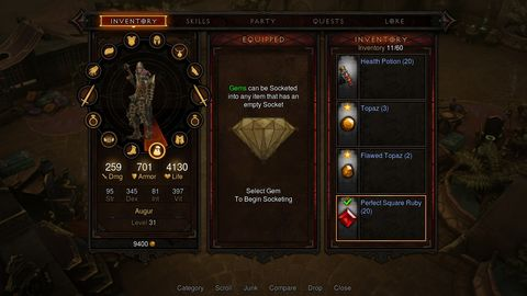 Diablo 3 screens show game running on PS3