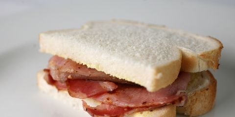 Food, Finger food, Cuisine, Ingredient, White, Baked goods, Sandwich, Dish, Breakfast, Meal,