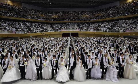 3 000 people marry in mass ceremony