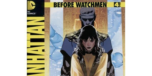 Before Watchmen Dr Manhattan 4 Review