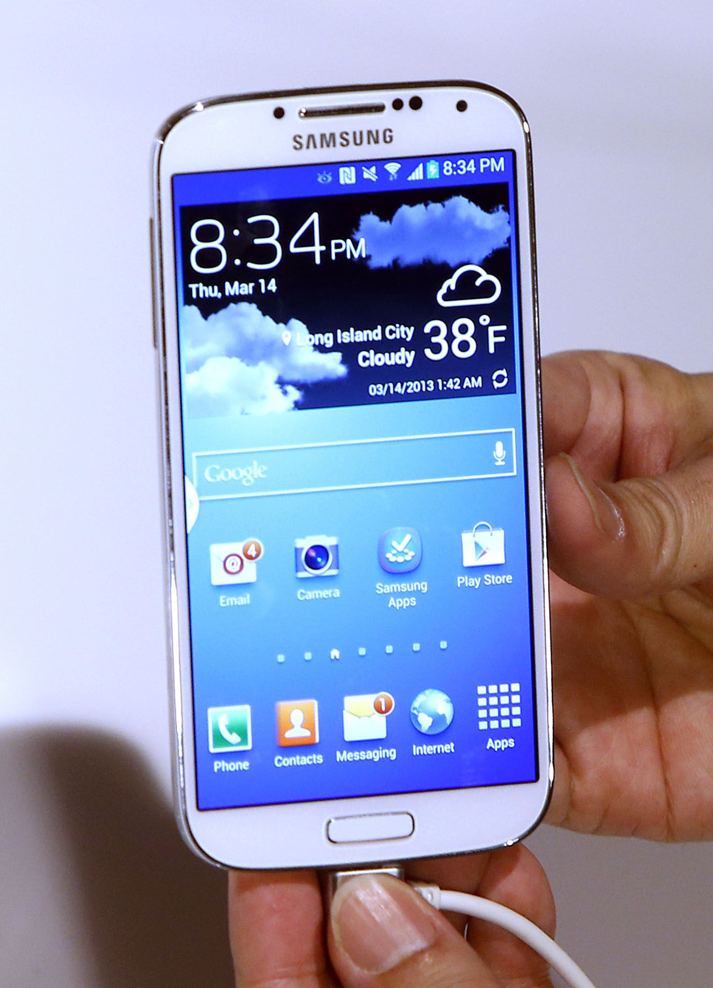 Transferring files between Linux PC and Samsung galaxy S4 active Android 4.2.2 phone