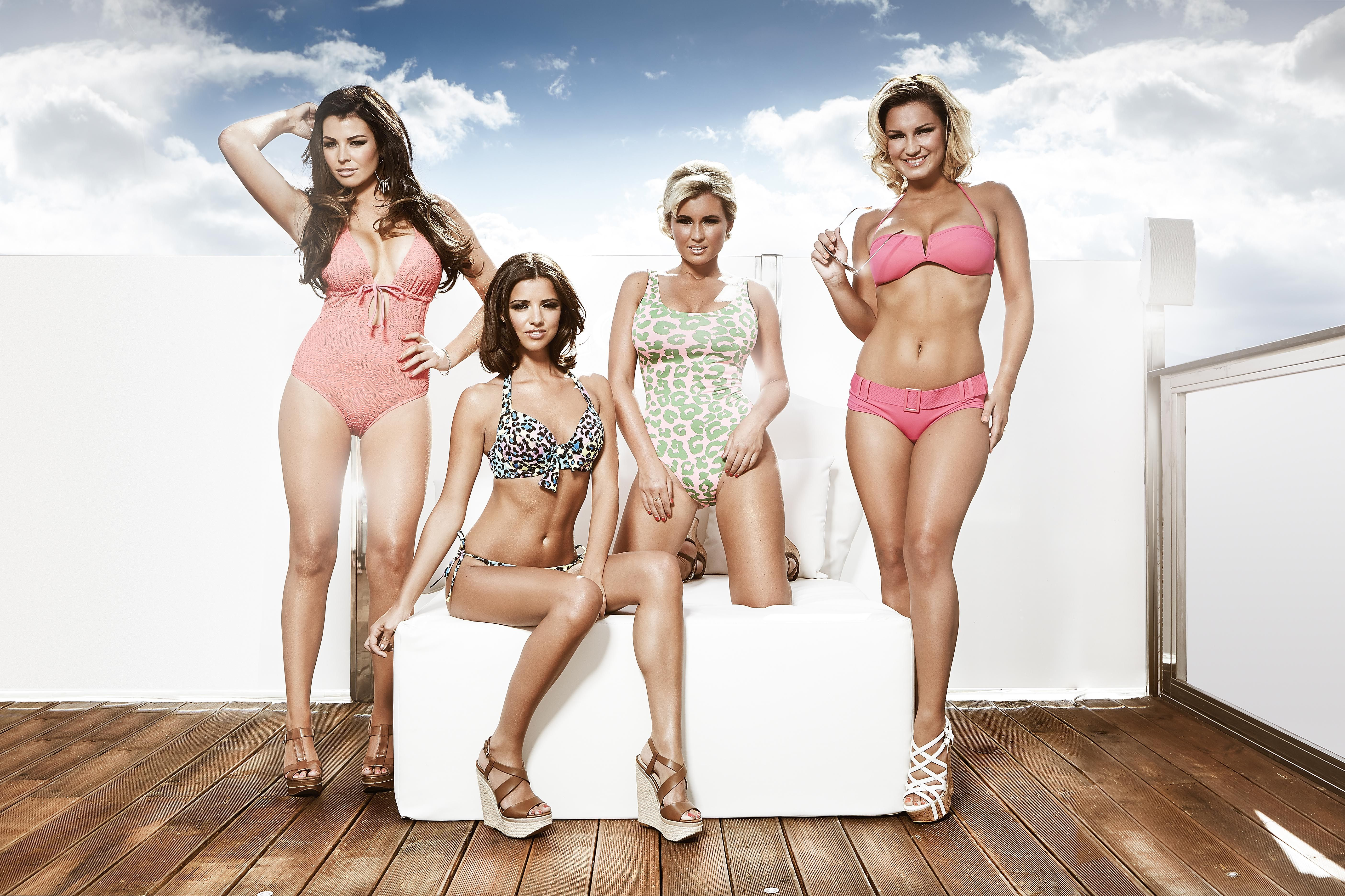 RITA: Naked only way is essex girls
