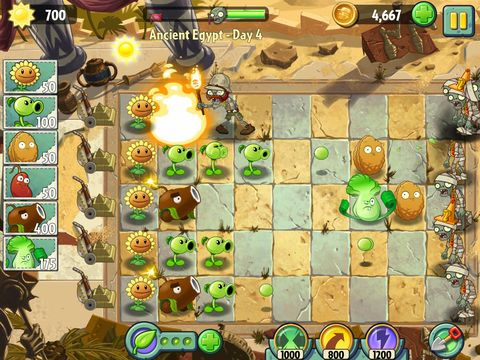 Plants vs  Zombies 2' now on Android