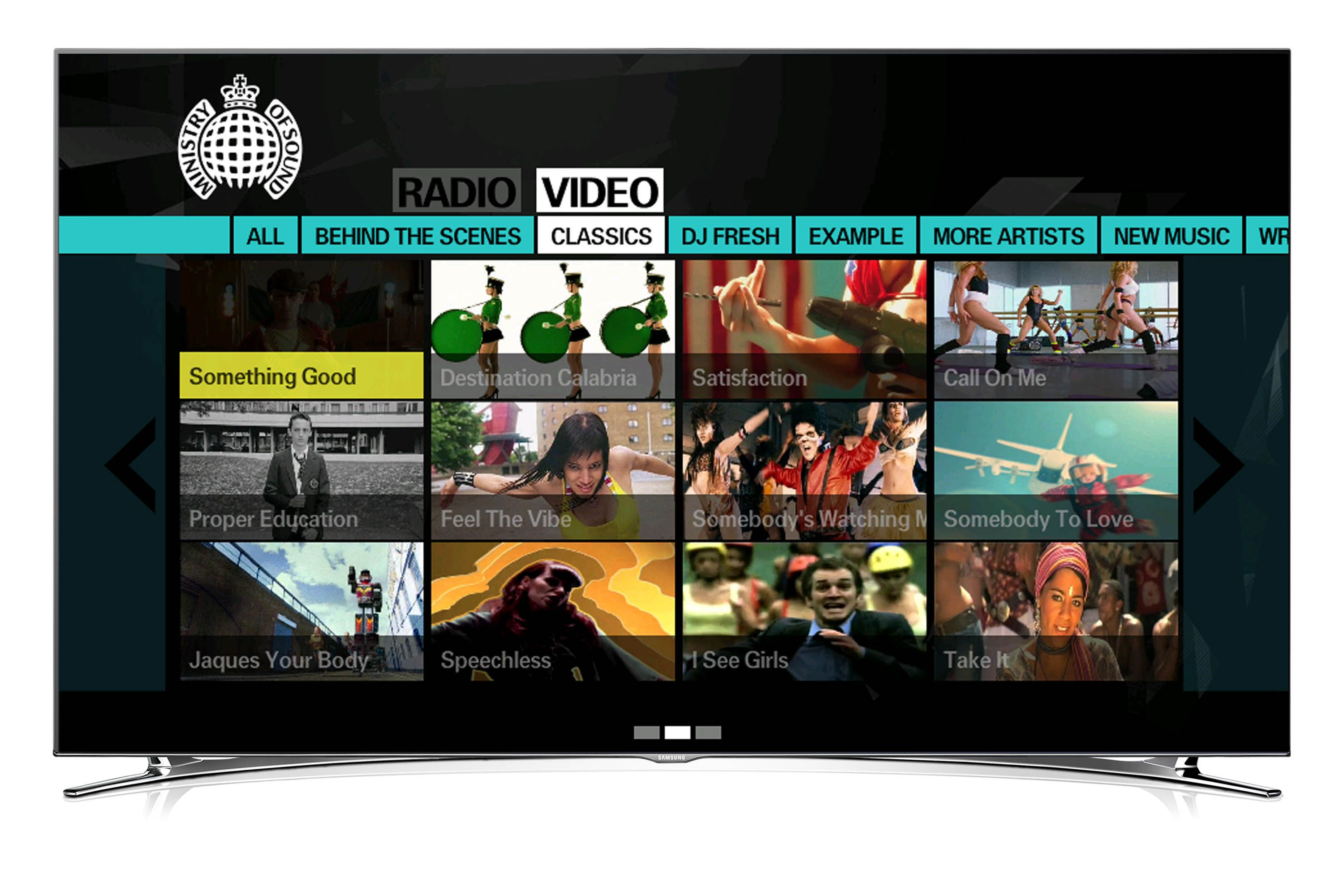 Ministry launches Samsung Smart TV app
