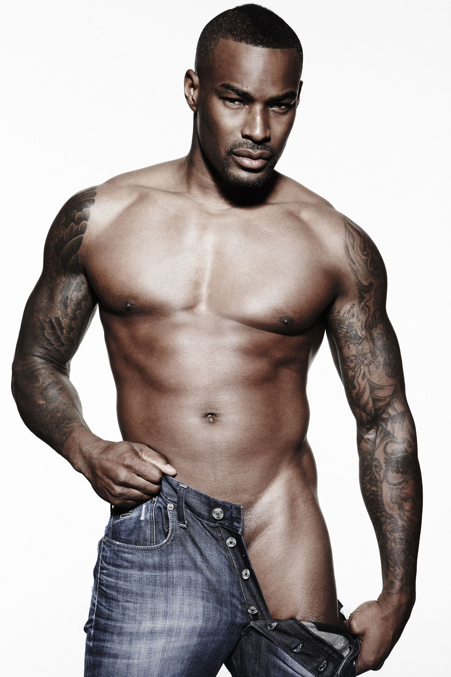 American Gladiators Naked gay spy: tyson beckford naked for charity