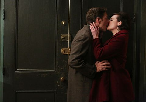 don draper and peggy hook up