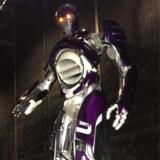 Purple, Violet, Lavender, Machine, Space, Technology, Armour, Metal, Mecha, Silver,