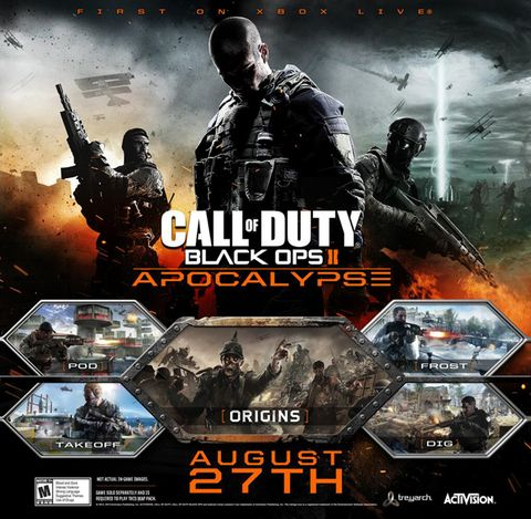 Black Ops Apocalypse DLC dated for PS3, PC
