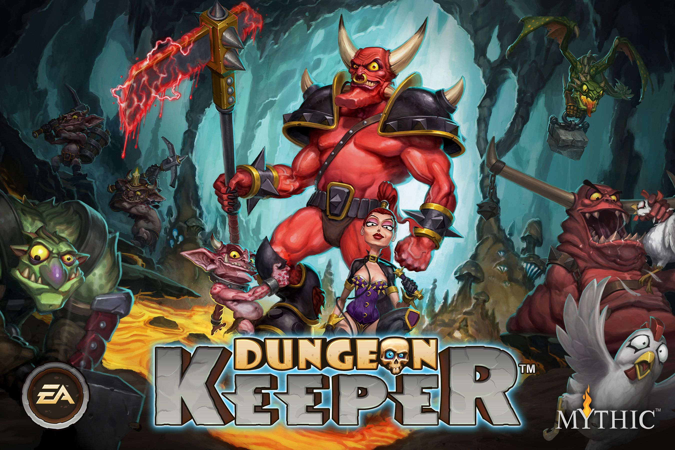 Dungeon Keeper out now on iOS, Android