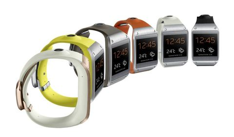 Product, Yellow, Electronic device, Technology, Gadget, Watch, Orange, Amber, Font, Grey,