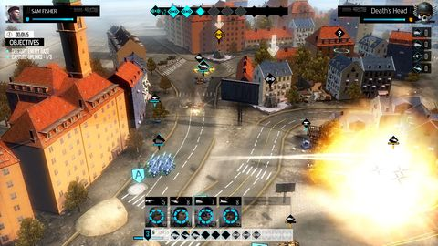 EndWar Online is free-to-play browser game