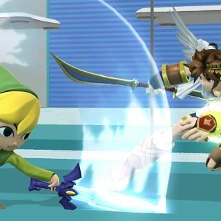 Super Smash Bros' adds Toon Link