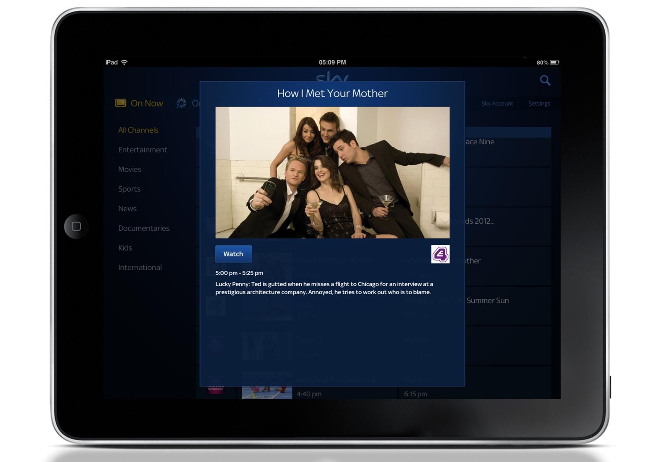 Sky Go adds E4 and Film4 live channels