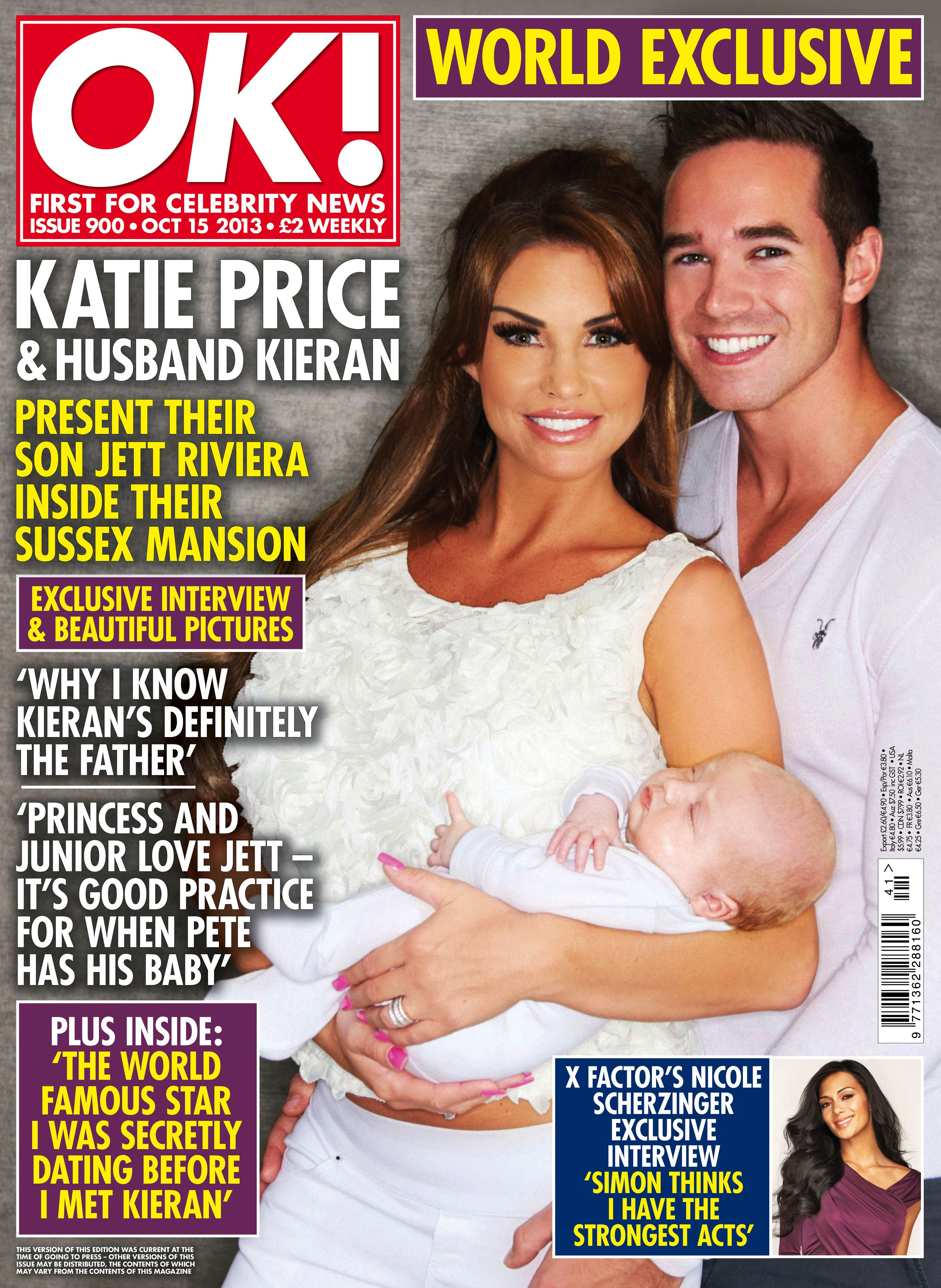 Katie Price Debuts Baby Son Jett Pictures
