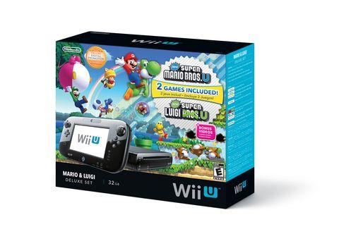 Mario Bros U Luigi U In Wii U Bundle