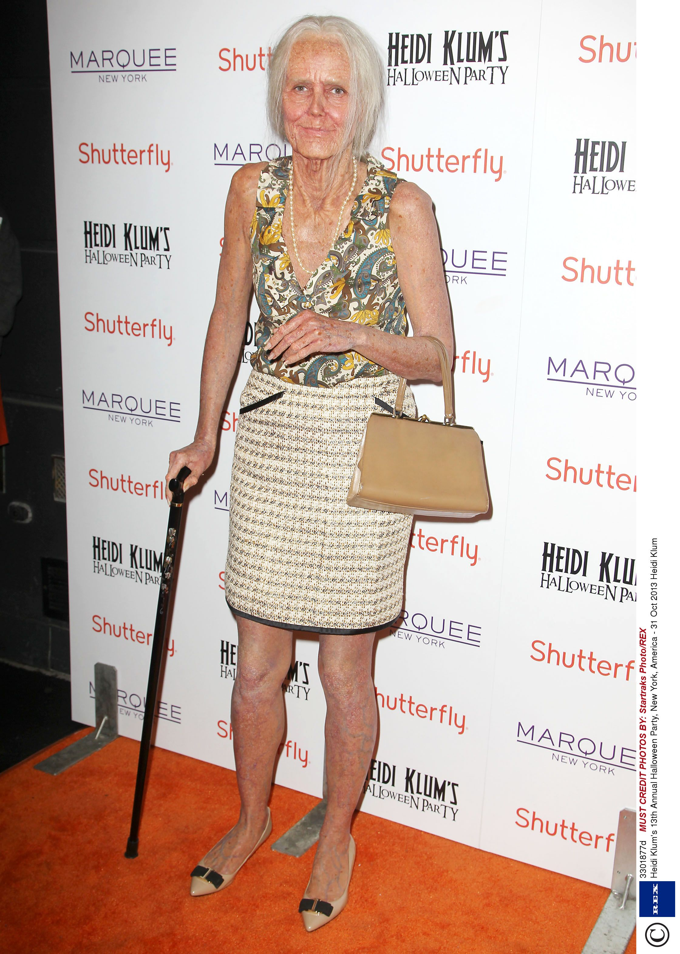 Heidi Klum Halloween Bash 2020.Heidi Klum As Old Woman For Halloween