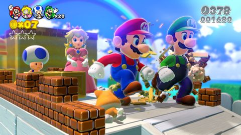New 3D Mario game in the works
