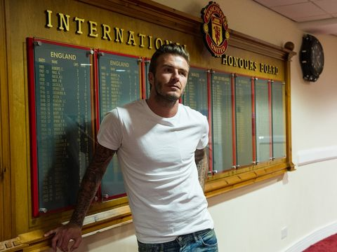 45fb5534452d David Beckham signs deal with Haig Club whisky