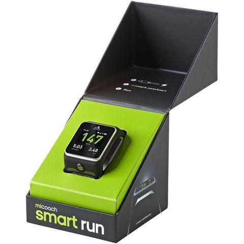 alquitrán Marinero Marinero  Adidas MiCoach Smart Run review