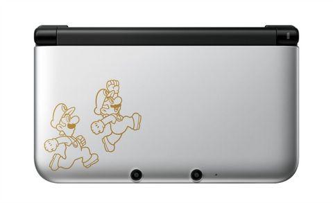 Mario Luigi Themed 3ds Xl Revealed