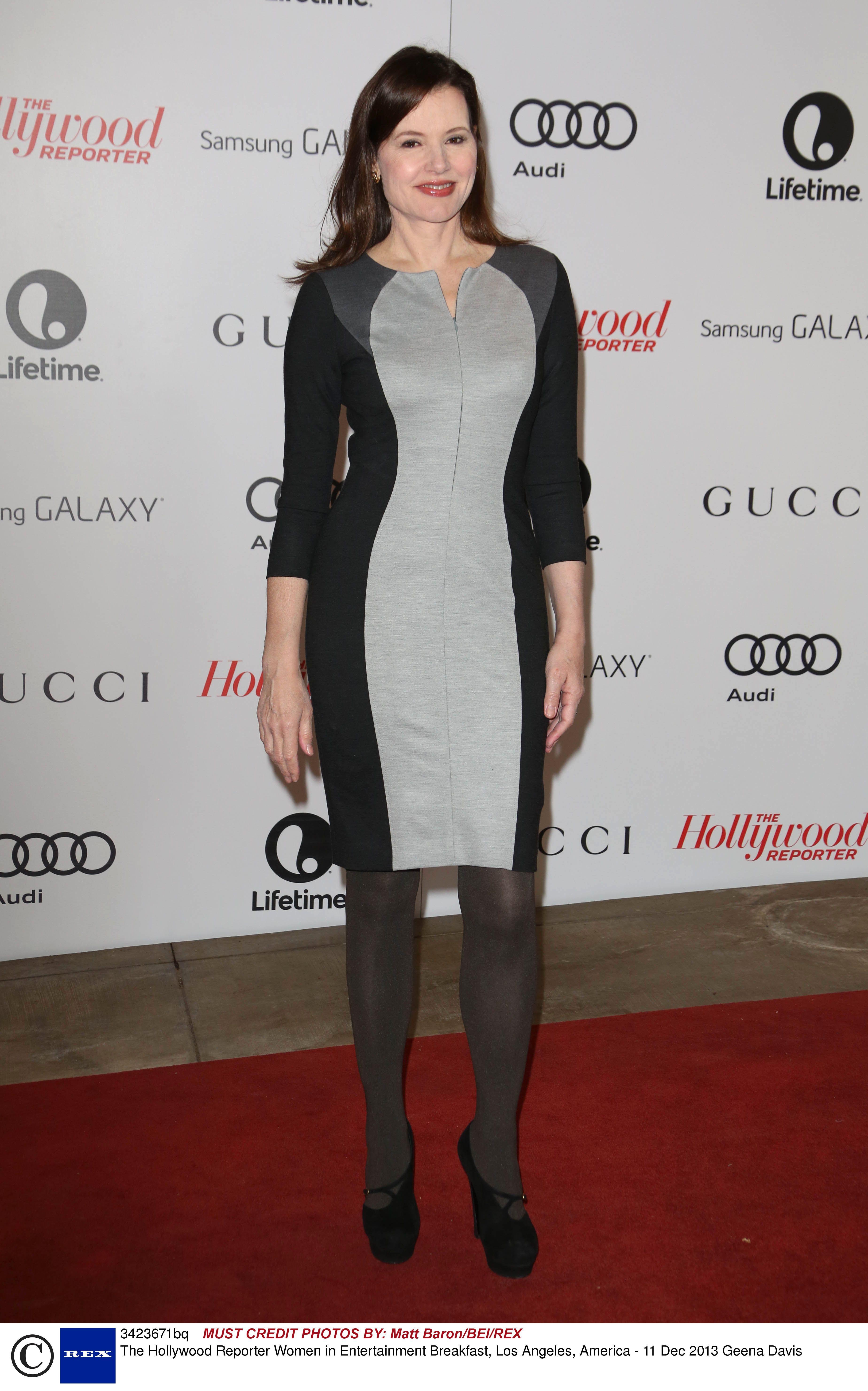 Geena Davis tall