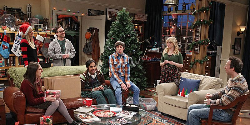 Image result for big bang theory christmas
