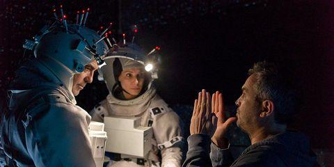Astronaut, Interaction, Space, Gesture, Midnight, Glove,