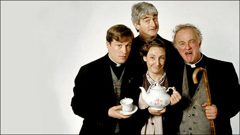 Father Ted star 'stressed' before death