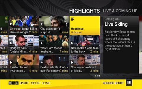 Chromecast adds BBC Sport app support