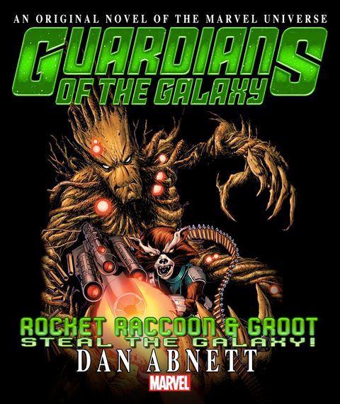 Abnett on Rocket Raccoon, Groot novel