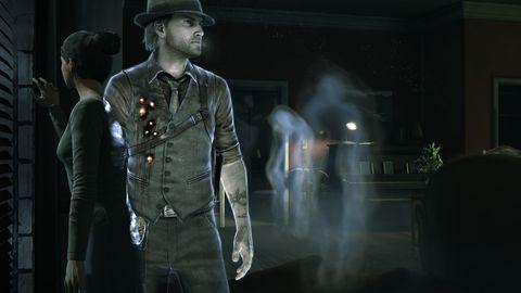 Sleeve, Standing, Hat, Collar, Dress shirt, Pocket, Street fashion, Belt, Facial hair, Fedora,
