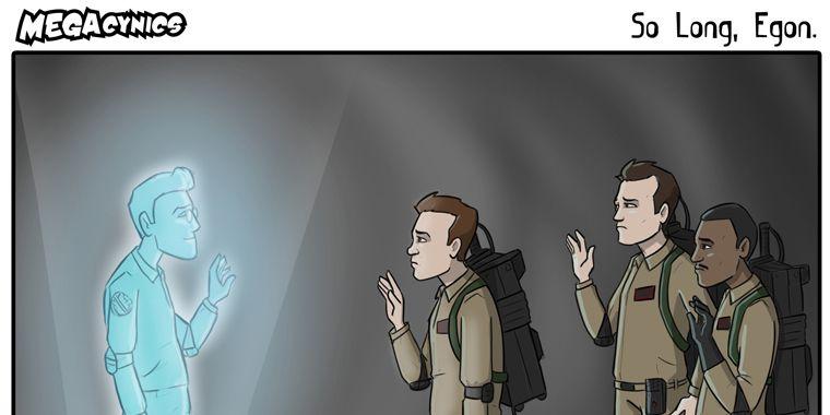Cartoonist Mourns Ghostbuster Harold Ramis