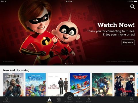 Disney Movies Anywhere app launches
