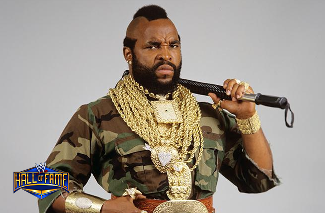 Mr T Joins Wwe Hall Of Fame