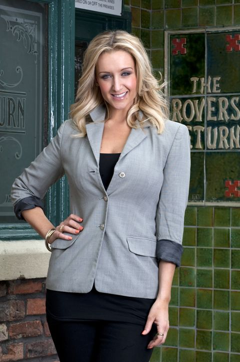 Clothing, Outerwear, Blazer, Suit, Jacket, Fashion, Blond, Street fashion, Formal wear, Top,