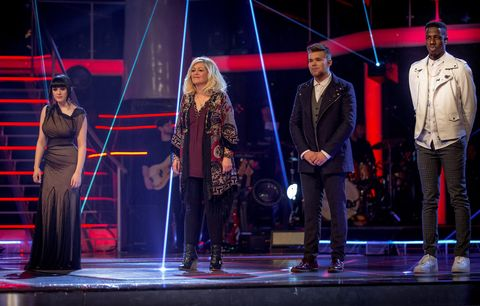Voice: Sally, Jermain scale iTunes chart