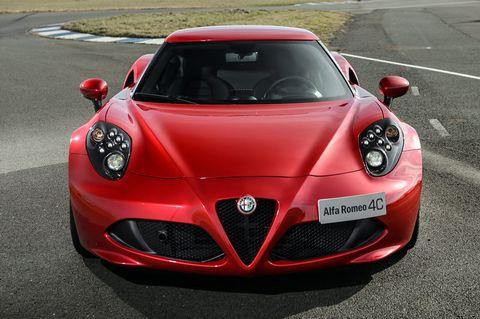 Alfa Romeo 4c The Tech Highlights
