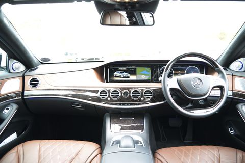 The 2014 Mercedes-Benz S Class explored
