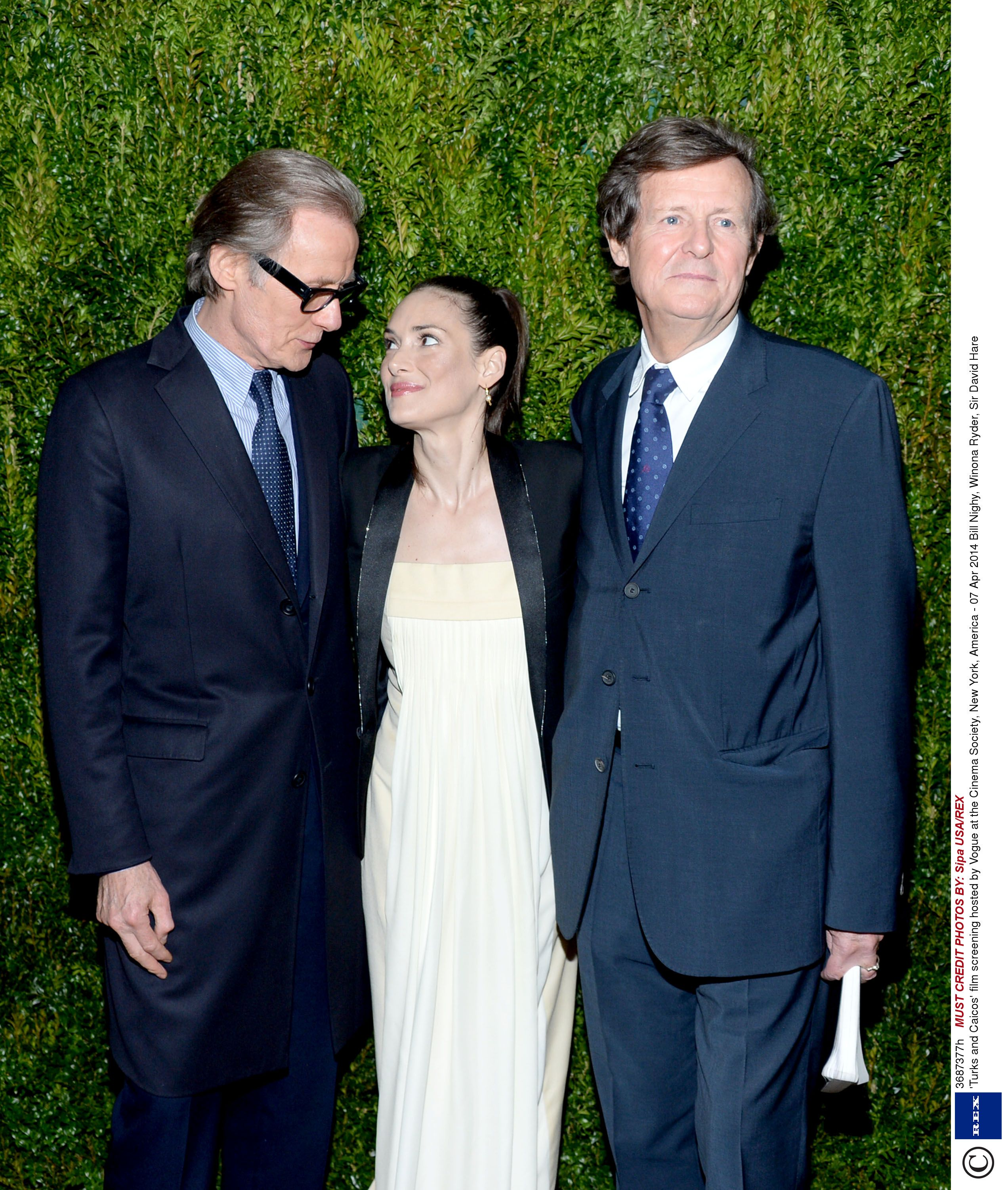 Ryder, Nighy at Turks & Caicos screening