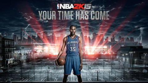 Kevin Durant named NBA 2K15 cover star