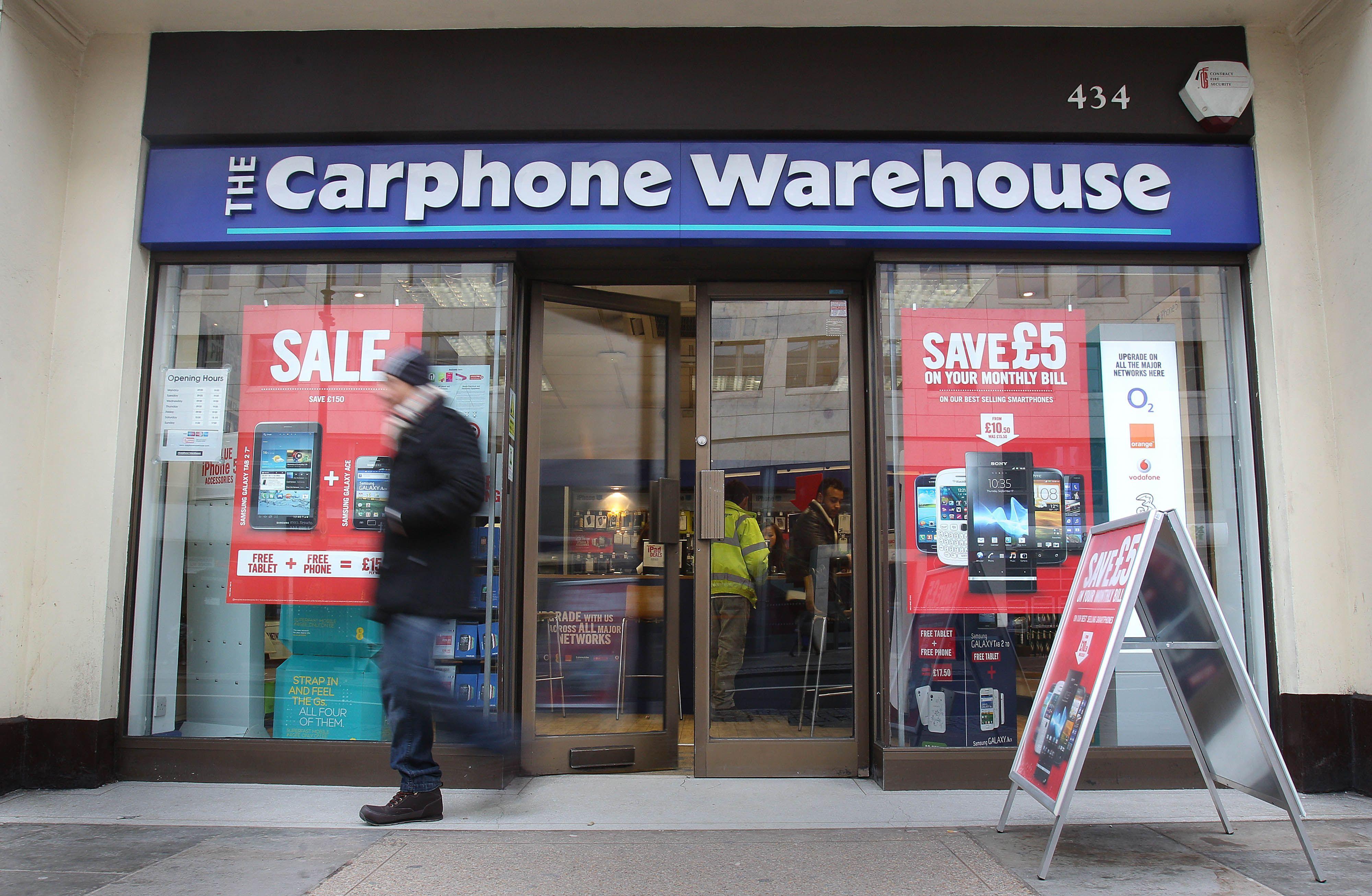 Carphone Warehouse Creates Network With Three