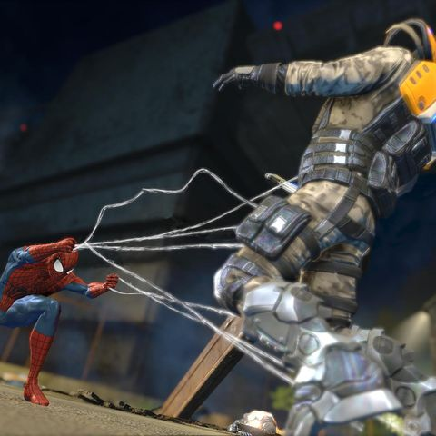 Fictional character, Spider-man, Cg artwork, Action-adventure game, Animation, Digital compositing, Fiction, Games, Armour, Pc game,