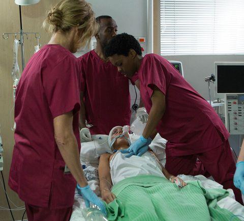 Event, Health care provider, Room, Patient, Medical procedure, Hospital, Medical assistant, Medical equipment, Service, Medical,