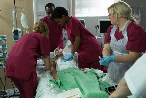 Health care provider, Event, Patient, Medical assistant, Medical procedure, Hospital, Medical equipment, Room, Service, Nurse,